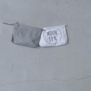 MOUN TEN. tyvek® ポーチ ホワイト