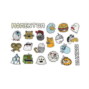 MOMENTUM STICKER SHEET