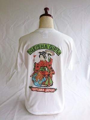 オリジナル 芸者GIRLTシャツ 白