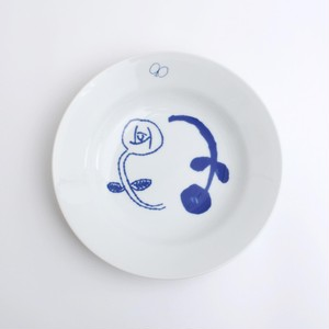minä perhonen×PASS THE BATON / Remake tableware Deep Plate
