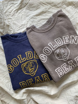 "Mixta ""GOLDEN BEAR"" CREW NECK SWEAT"