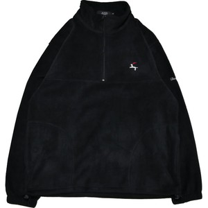 DET Quarter Zip Fleece Shirt (Black)