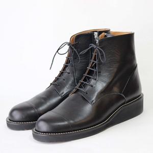 steer blucher boots/BLK,BRW/l.o.b【受注生産】