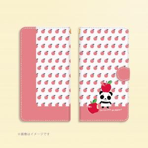 D*Android *S/Mサイズ*1919CPTx*のベルトあり手帳型スマホケース*ピンク