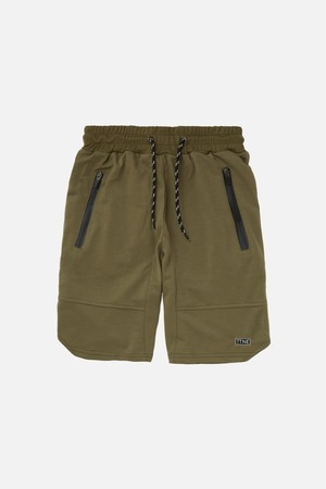 TTNE Box Logo Sauna Sweat Half Pants - Olive