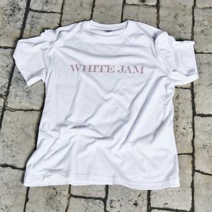 """T-Shirt """"WHITE JAM"""" -White-(再々販売 9月末〜10月発送予定)"""