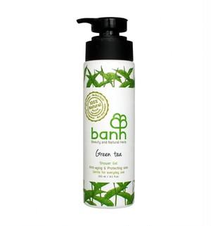 banh - グリーンティーシャワージェル - アンチエイジング&肌の保護(250ml)