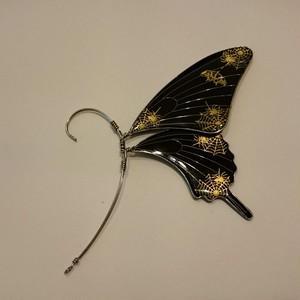 蝶 イヤーフック