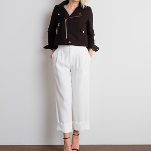 Occ Gaucho Pants / WHITE