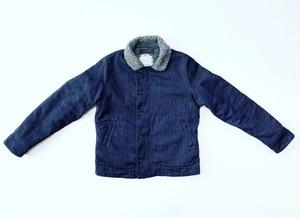 18AW 刺し子インディゴN-1デッキジャケット / sashiko indigo N-1 deck jacket