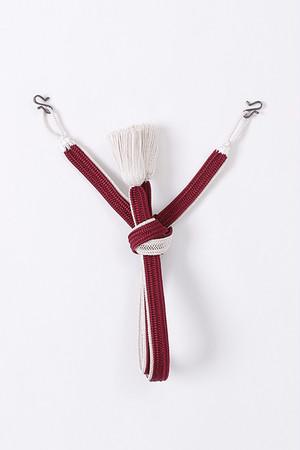 羽織紐 / 高来 / Wine red