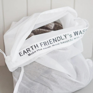 【Earth Friendly】WASH BAG マイクロプラスチックを防ぐ 洗濯ネット