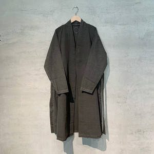 【COSMIC WONDER】Beautiful Organic cotton haori robe/Sumi/12CW06064-3
