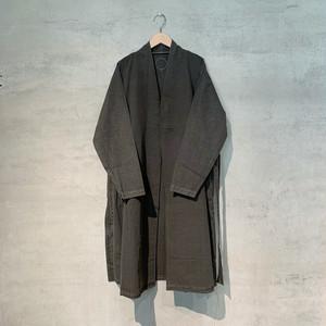 【COSMIC WONDER】Beautiful Organic cotton haori robe/Sumi/12CW06064-3