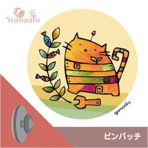 ピンバッチ :  猫ロボ