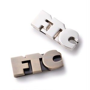 FTC / MONEY CLIP -GOLD/SILVER-