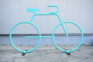 BICYCLE RACK(TURQUOISE BLUE)