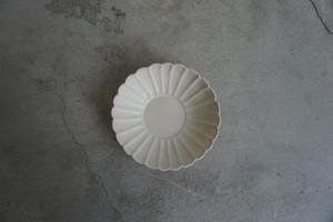 中坊 優香 輪花鉢 白