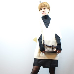 2000000026701 CHANEL CASHMERE100% DESIGN KNIT MADE IN ITALY/シャネルカシミヤ100%デザインニット