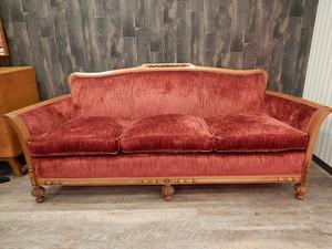 品番3540 ビクトリアンカウチ ソファー 椅子 家具 アンティーク 011