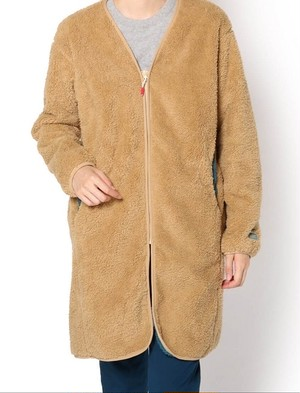 CHUMS チャムス BONDING FLEECE COAT