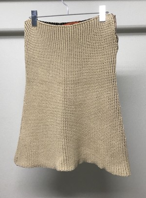1990s HAND KNITTED SKIRT