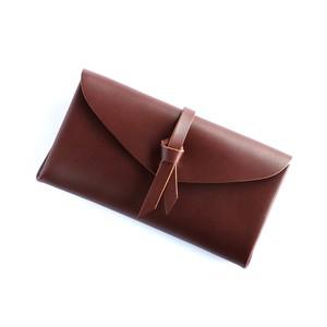 折りロングウォレット マグネットver#ブラウン / ori long wallet #brown
