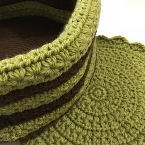 編み編み猫ベッド