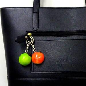 半分 りんご 食品サンプル キーホルダー ストラップ マグネット【送料無料】