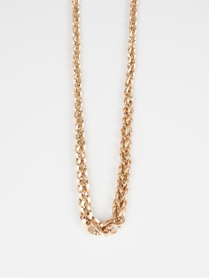 Graduated Woven Necklace / Italy