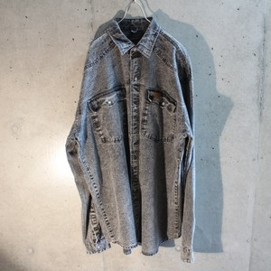 Fade denim shirt