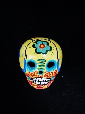 ガイコツ/ メキシカンスカル/ オブジェ/メキシコ カラベラ/ インテリア 置物/ スカル