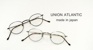 ユニオンアトランティック 国産 日本製 眼鏡 鯖江のめがね オーバル UNION ATLANTIC UA-3602 正規品