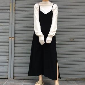 anana/サロペットロングスカート
