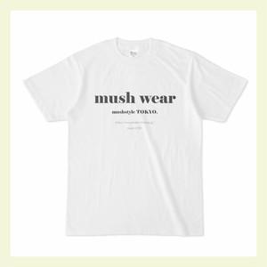 mushwear オリジナルTshirt(ブラック)