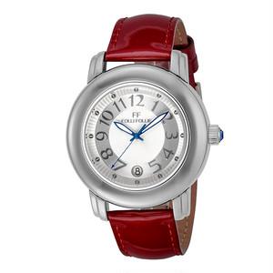 フォリフォリ FOLLI FOLLIE 腕時計 レディース WF9T001SDW-RE クォーツ シルバー レッド