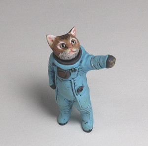 "Spacesuit cat ""Tanpopo"" ver2.0"