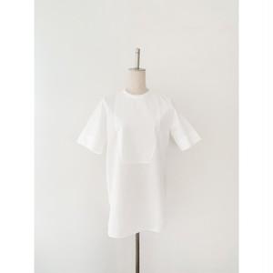 Cotton Back opening shirt