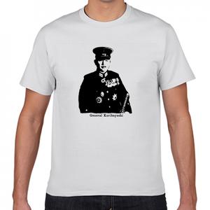 栗林忠道 帝國陸軍 硫黄島の戦い 歴史人物Tシャツ049