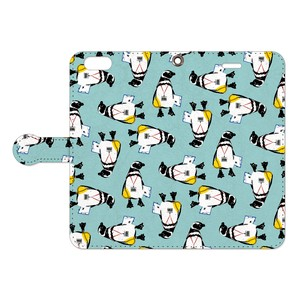 [手帳型iPhoneケース] STAFF Penguin 2