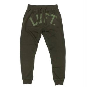 LIVE FIT Varsity Jogger 2.0- Militant Green