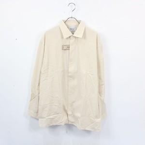 【新品】YAECA / ヤエカ   10118シルク混紡コンフォートシャツワイドスクエア   S   ベージュ