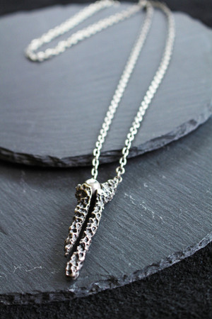【Node by Kudo Shuji 】P-31 Silver925 Necklace シルバーネックレス 58cm