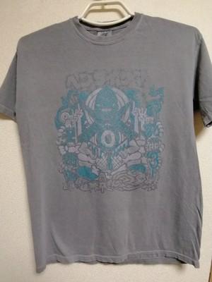 卍ヘンタイサマ卍 Tシャツ ラメ 6.1オンス Garment Dyed ヘンタイワークス