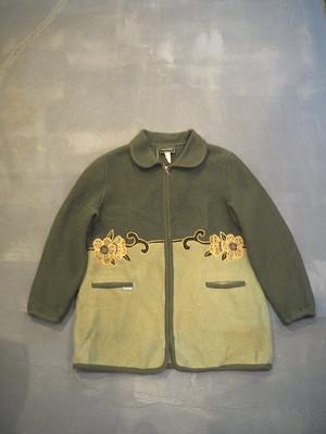 Boiled Wool Zip up Jacket [O-320]