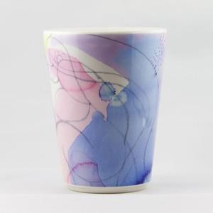 女神シリーズ - マグカップ - 青紫