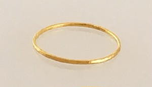 K24 Pure Gold Ring◇純金の指輪/リング