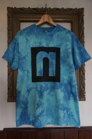 "STENCIL TIEDYE-TEE ""NEUTRAL 9TH ANNIVERSARY【FIXED】"""
