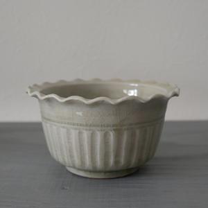 田村文宏|白磁筒鉢 Fumihiro Tamura white porcelain cylinder bowl