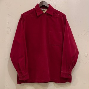 50's Peter Pan Collar Corduroy Shirts